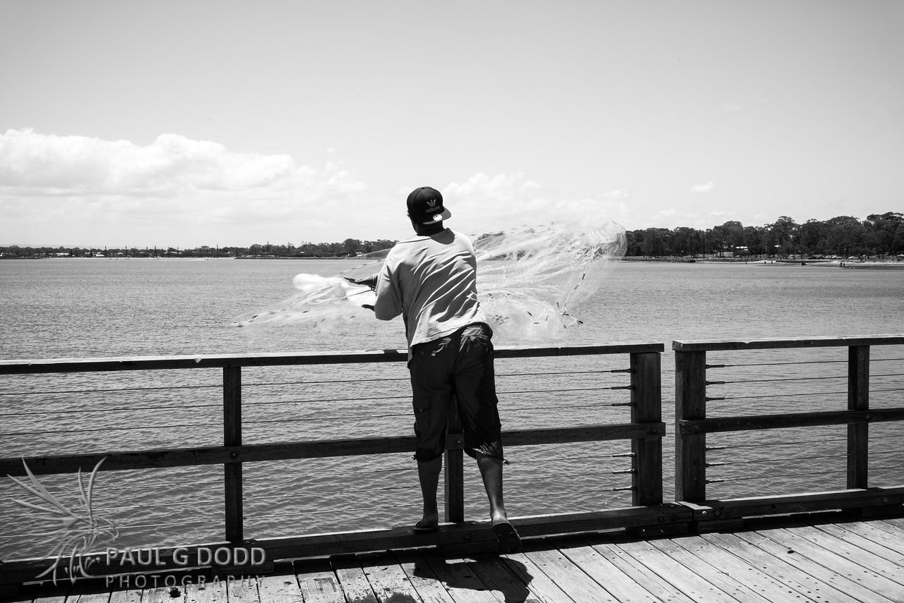 Fishing, Woody Point Jetty