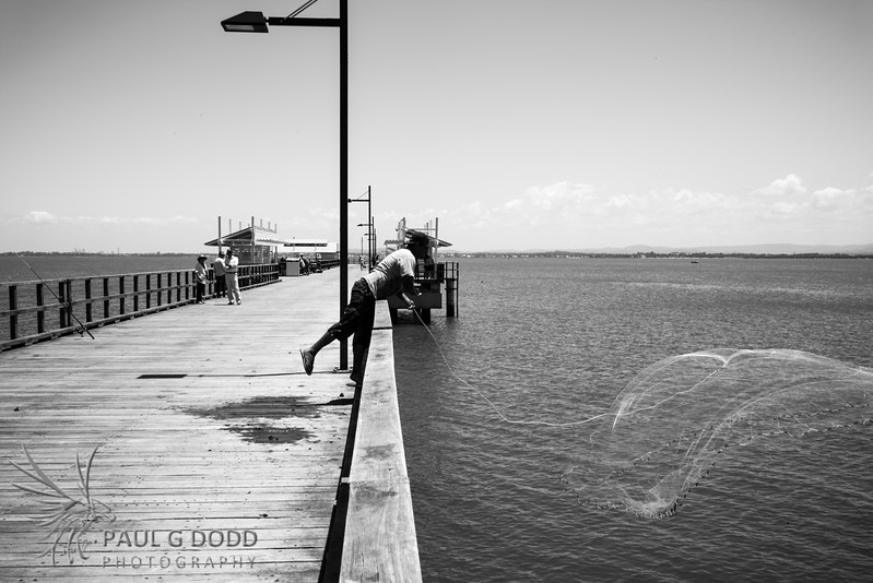 Fishing, Woody Point Jetty