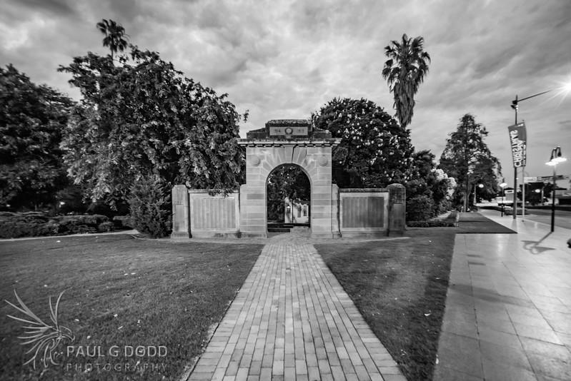 Victory Gardens Arch, Wagga Wagga