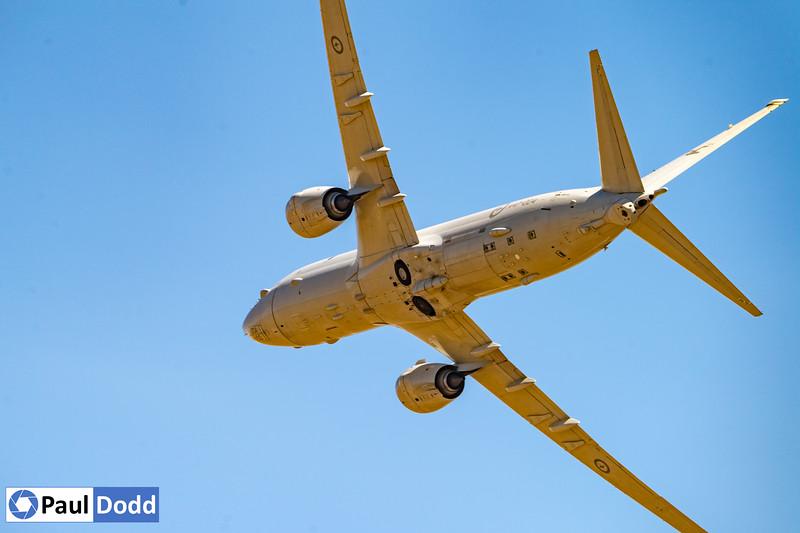 RAAF No 11 Squadron Boeing P-8A Poseidon