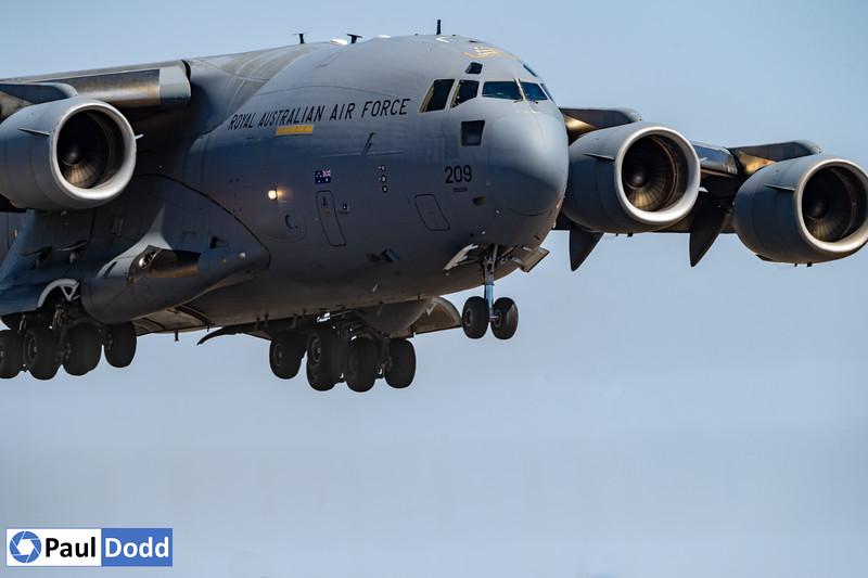 RAAF No 36 Squadron Boeing C-17A Globemaster