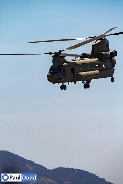 Australian Army 5th Aviation Regiment Boeing CH-47F Chinook