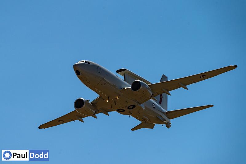 RAAF No 2 Squadron Boeing 737 AEW&C E-7A Wedgetail