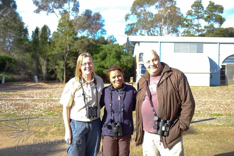 Ruth Woodrow, Rick & Elis Simpson (Wader Quest)