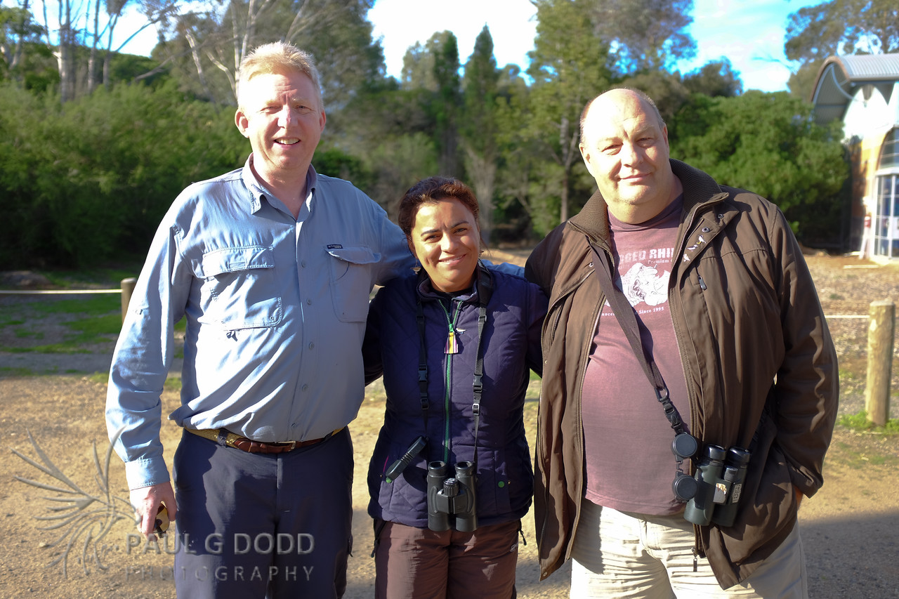Paul Dodd, Rick & Elis Simpson (Wader Quest)