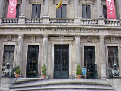 The National Archaeological Museum in Madrid.