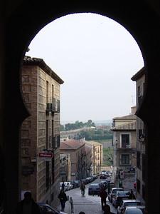 Street in Toledo, Spain.