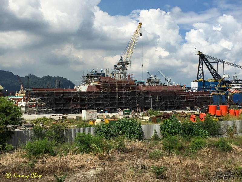 Shipyard at Sungai Sitiawan 1.