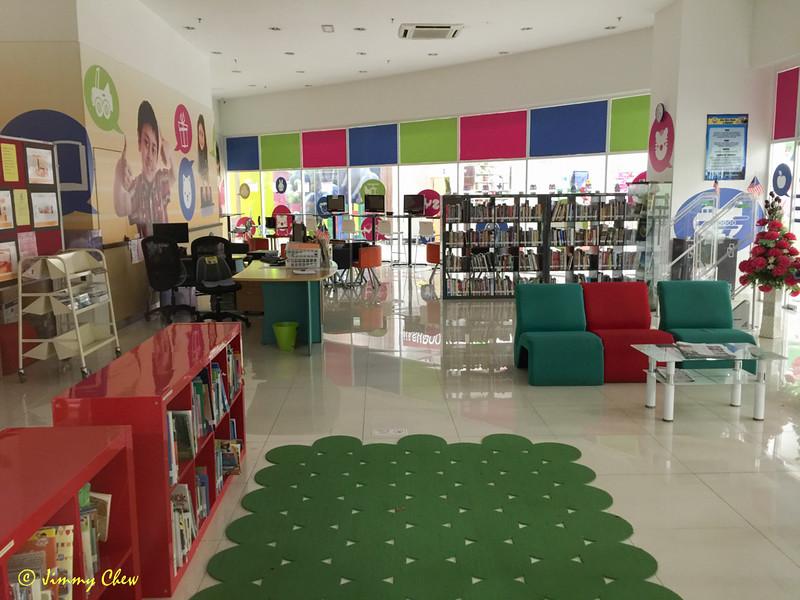 Community library inside Aeon.