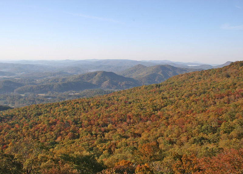 View from the  Black Rock State Park Visitors' Center