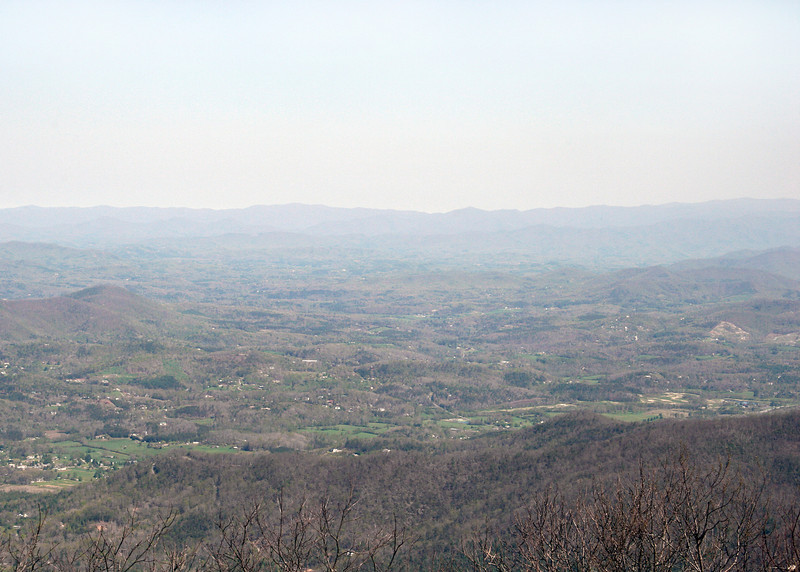 Looking south from top of Brasstown Bald