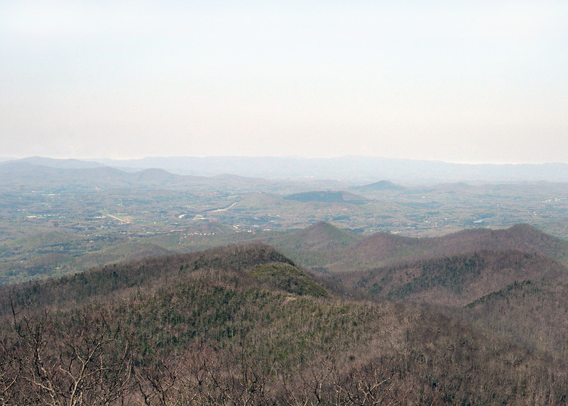 Looking towards Blairsville, GA