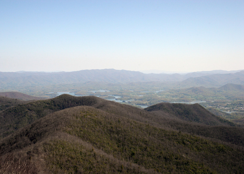 Chatuge Lake as seen from Brasstown Bald