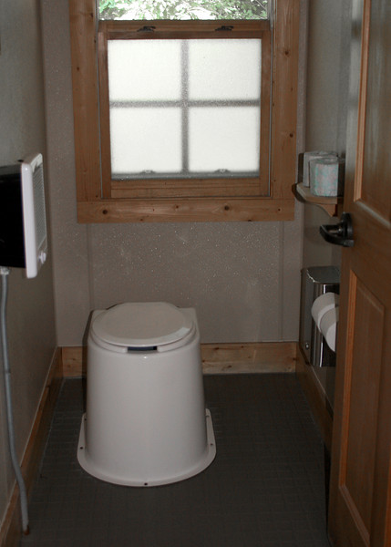The Hike Inn uses odor-free composting toilets that help save more than 250,000 gallons of valuable drinking water every year.  IT IS TRUE, there is absolutely no odor!  There is a heater in the bathroom so during the winter it is nice and warm.