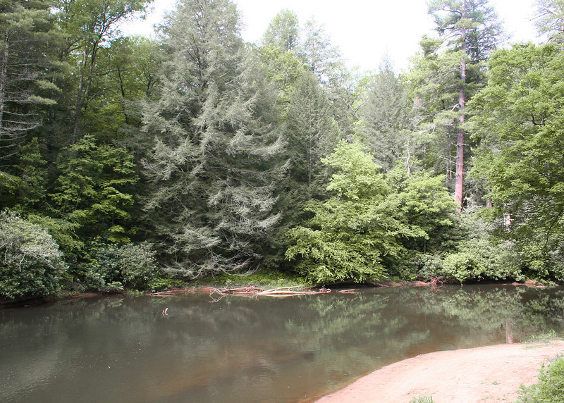 A stop at Deep Hole Campground, located on the Toccoa River within the Blue Ridge Ranger District of the Chattahoochee National Forest within Fannin County, GA