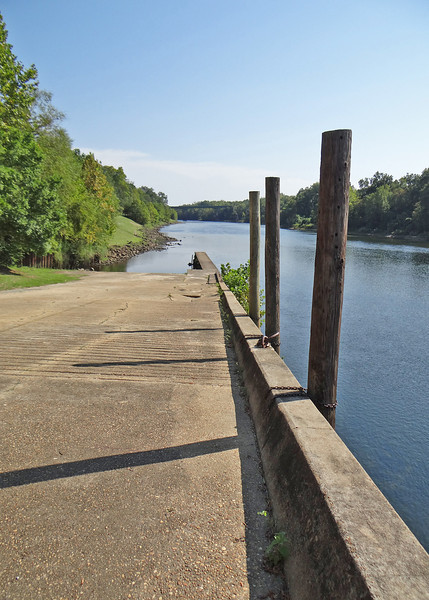Old City Wharf along the Chattahoochee River