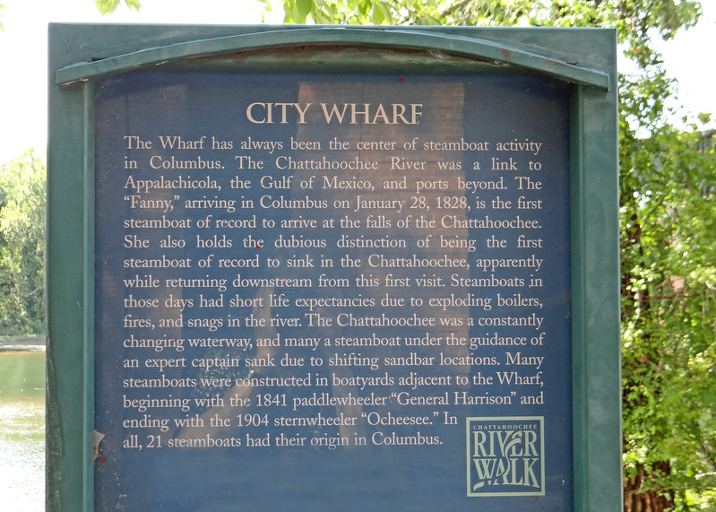Old City Wharf sign