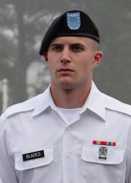 Travis at his Turning Blue Ceremony