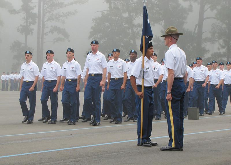 Ft. Benning - Presenting troops