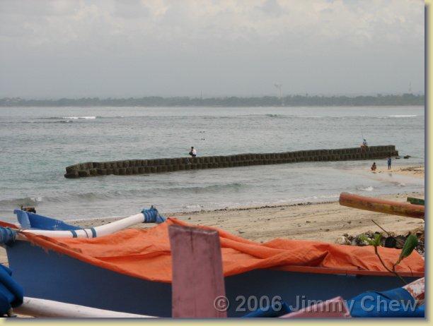 Tuban Beach.