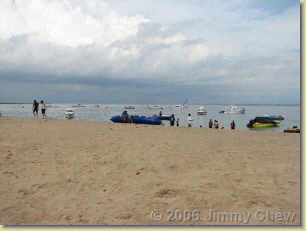 Tanjung Benoa Beach.