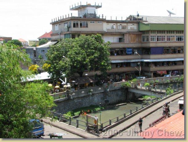 Shot from Kumbasari in Denpasar.