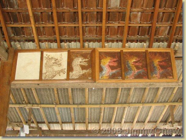 Batik process.
