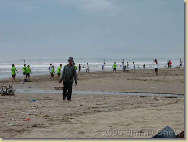 Legian Beach. Quite some activities there.