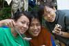 Melissa, Mervyn and Joyce.