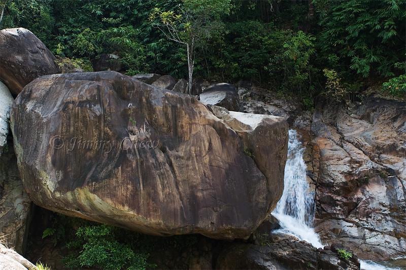 A big boulder.