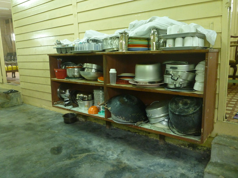 Kitchen utensils - best to bring your own as there may not be enough for everyone.