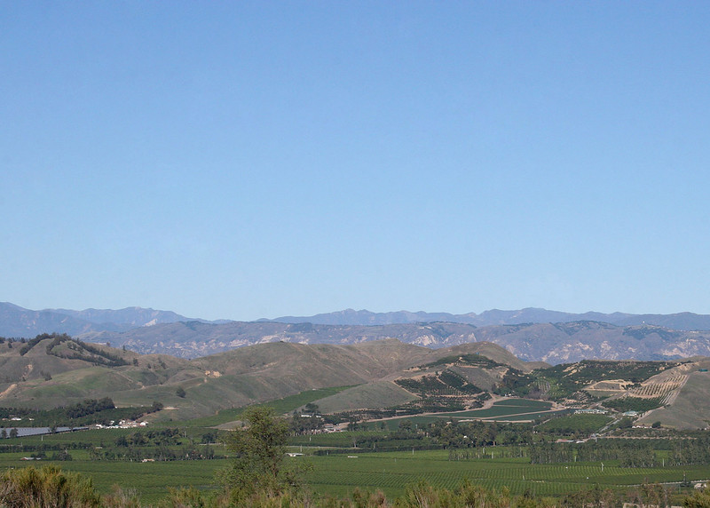Foothills and Sierra Mountains in the background