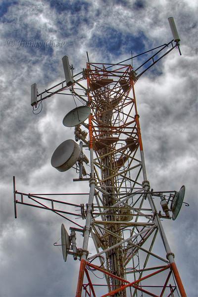 Station tower at Gunung Brinchang.