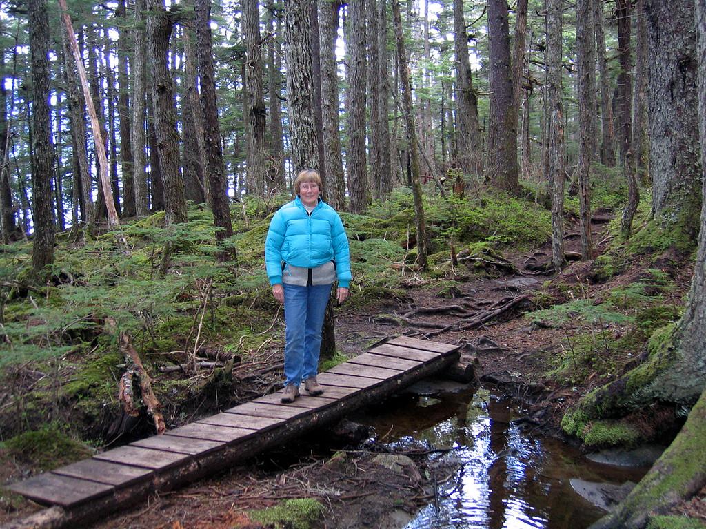 Susan on bridge