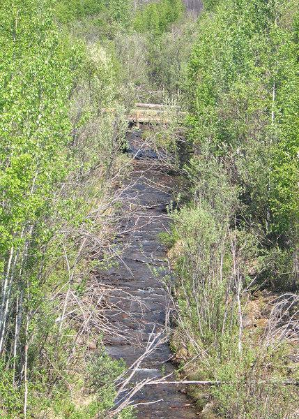 McKay Creek along Steece Highway