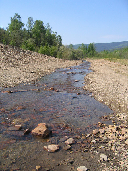 Pedro Creek along the Steece Highway