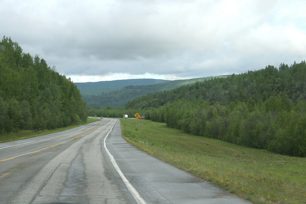 Heading out Steese Highway
