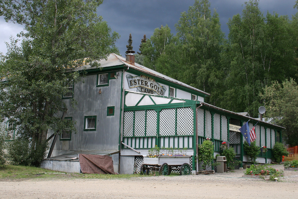 The old bunkhouse in Ester, AK