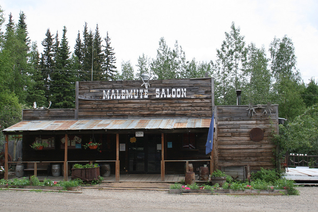 The Malemute Saloon in Ester, AK
