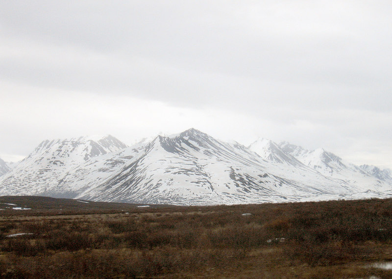 About 70 miles north of Haines, AK
