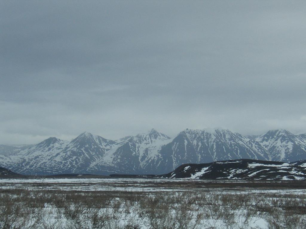 Around the Chilkat Summit north of Haines, AK