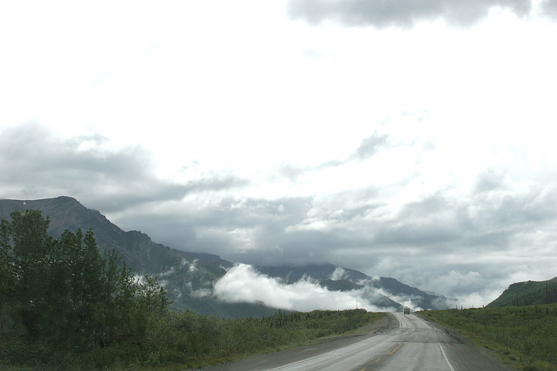 Just past Healy, AK