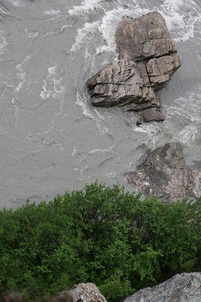 Rock in Nenana River