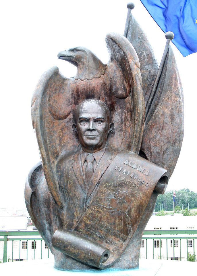 Alaska Statehood monument