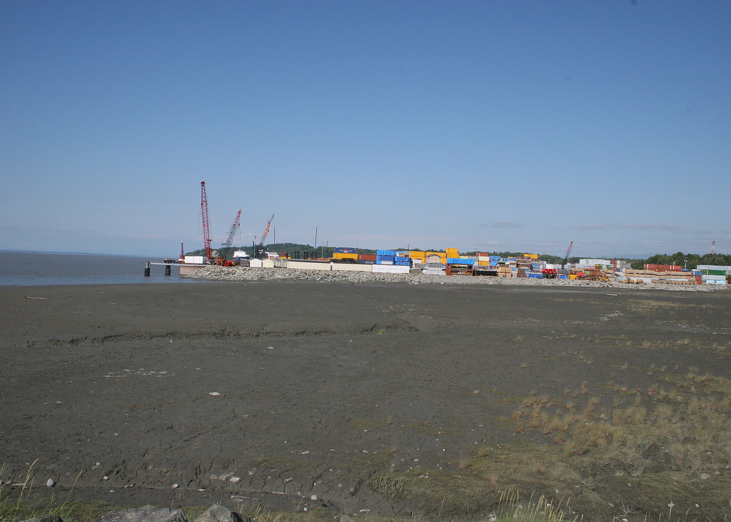 Mouth of Ship Creek