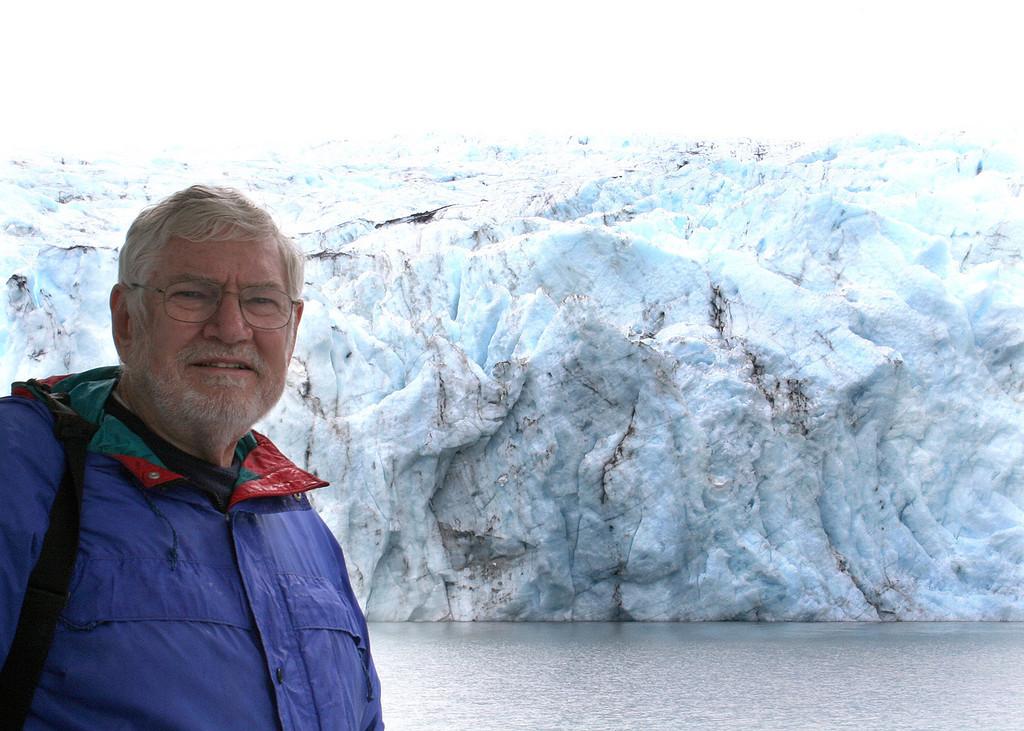 Mike at Portage Glacier