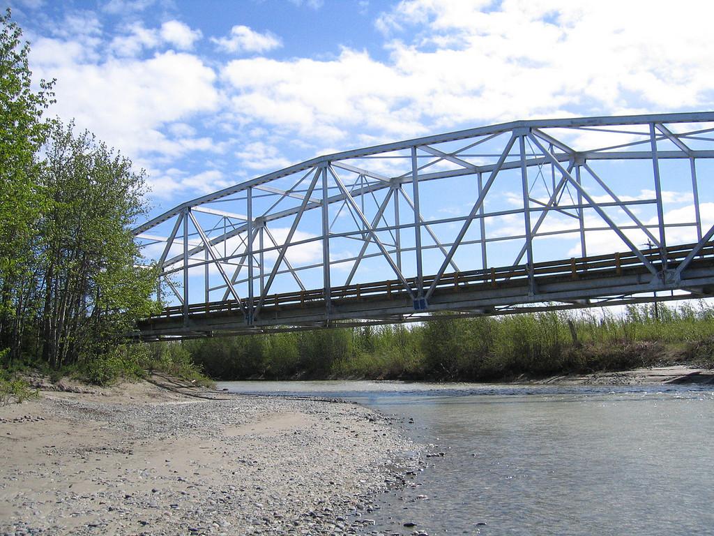 Tok River Bridge over the Tok River