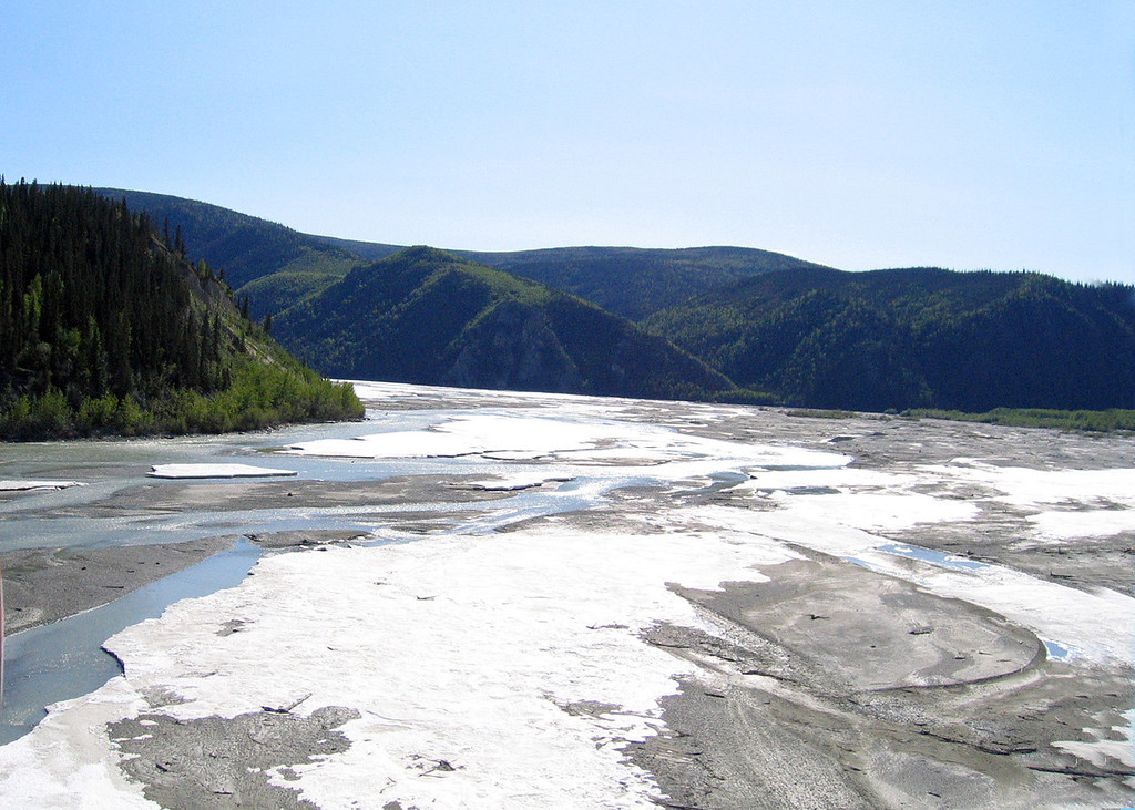 Robertson River about 35 miles north of Tok, AK