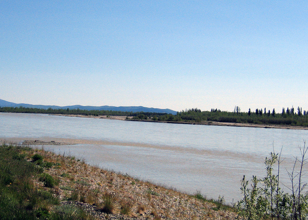 Tanana River about 73 miles south of Fairbanks, AK
