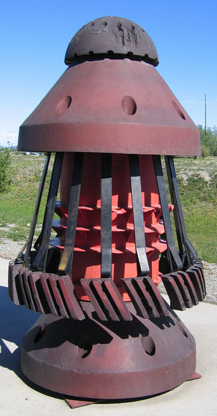 Pipeline pig, a device to improve the flow of oil through the pipeline